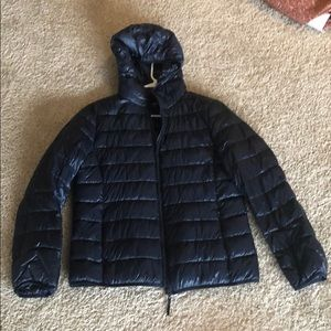 Woman's Ultralight Down Compact Jacket with hood